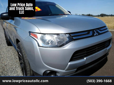 2014 Mitsubishi Outlander for sale at Low Price Auto and Truck Sales, LLC in Brooks OR