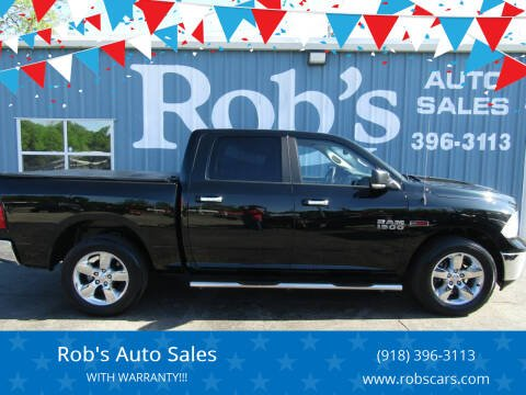 2015 RAM Ram Pickup 1500 for sale at Rob's Auto Sales - Robs Auto Sales in Skiatook OK