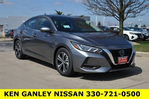 2021 Nissan Sentra for sale at Ken Ganley Nissan in Medina OH