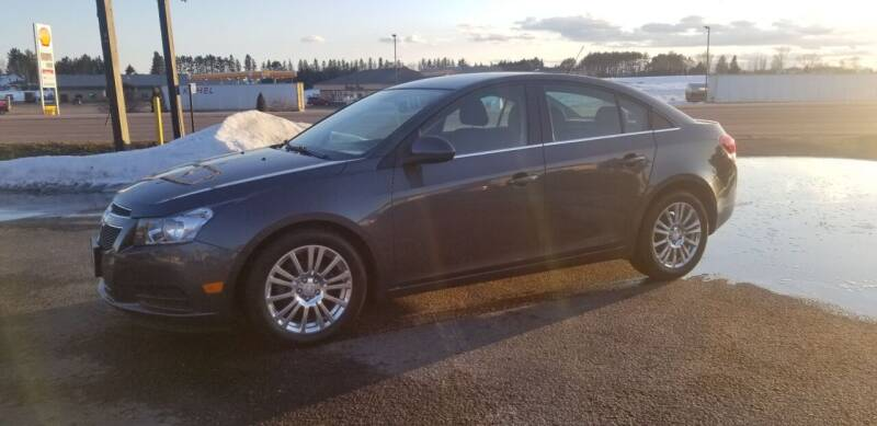 2013 Chevrolet Cruze for sale at D AND D AUTO SALES AND REPAIR in Marion WI