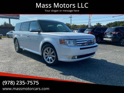 2011 Ford Flex for sale at Mass Motors LLC in Worcester MA