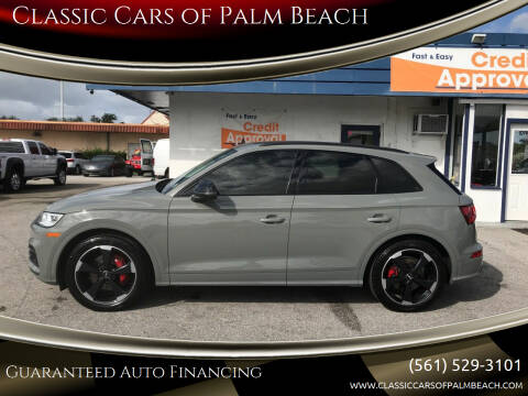2019 Audi SQ5 for sale at Classic Cars of Palm Beach in Jupiter FL