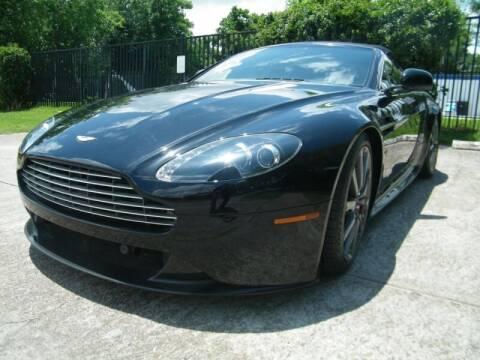 2012 Aston Martin V8 Vantage for sale at Elite Modern Cars in Houston TX