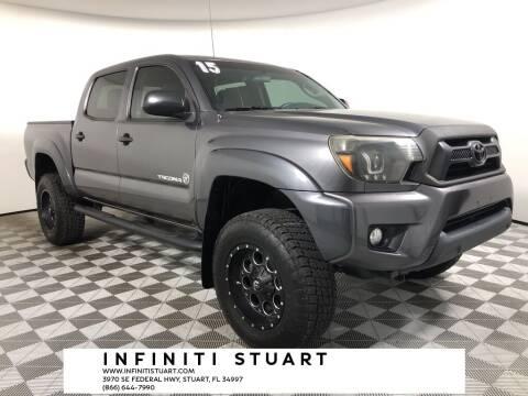 2015 Toyota Tacoma for sale at Infiniti Stuart in Stuart FL