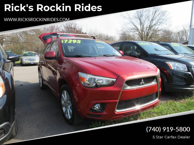 2012 Mitsubishi Outlander Sport for sale at Rick's Rockin Rides in Reynoldsburg OH