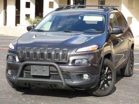 2015 Jeep Cherokee for sale at Ritz Auto Group in Dallas TX