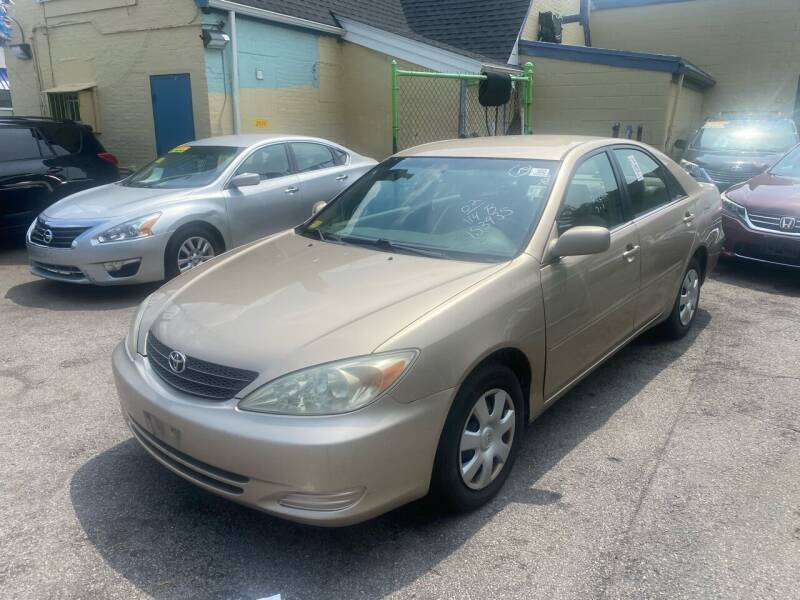 2002 Toyota Camry for sale at Polonia Auto Sales and Service in Hyde Park MA