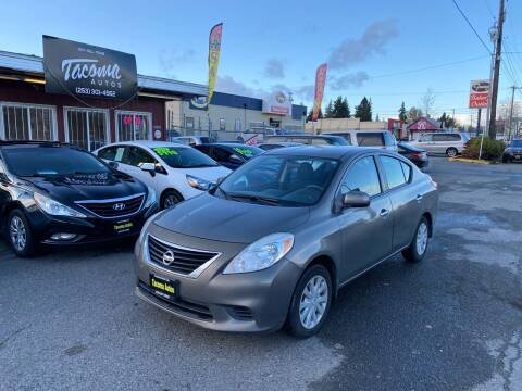 2012 Nissan Versa for sale at Tacoma Autos LLC in Tacoma WA