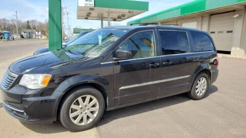 2014 Chrysler Town and Country for sale at North Metro Auto Sales in Cambridge MN