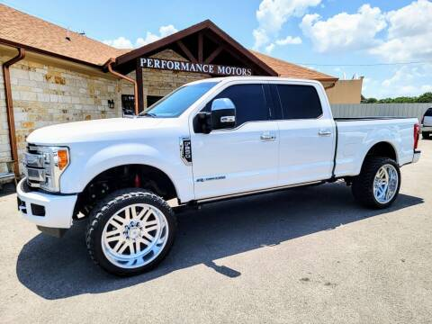 2017 Ford F-250 Super Duty for sale at Performance Motors Killeen Second Chance in Killeen TX