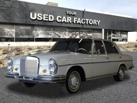 1968 Mercedes-Benz 250 SE for sale at JOELSCARZ.COM in Flushing MI