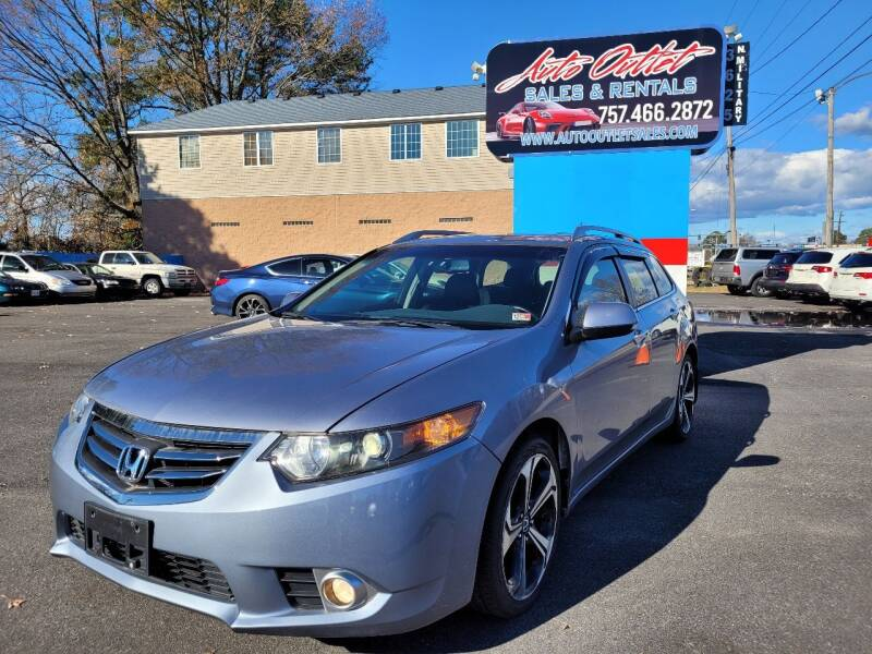 2012 Acura TSX Sport Wagon for sale at Auto Outlet Sales and Rentals in Norfolk VA