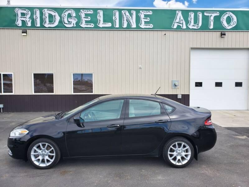2013 Dodge Dart for sale at RIDGELINE AUTO in Chubbuck ID