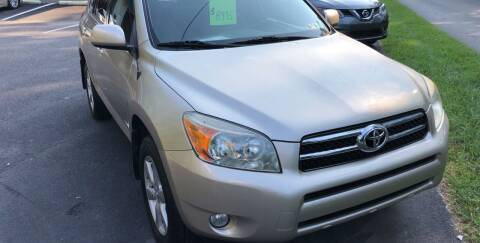 2008 Toyota RAV4 for sale at WHARTON'S AUTO SVC & USED CARS in Wheeling WV
