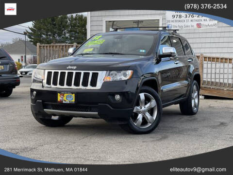2012 Jeep Grand Cherokee for sale at ELITE AUTO SALES, INC in Methuen MA