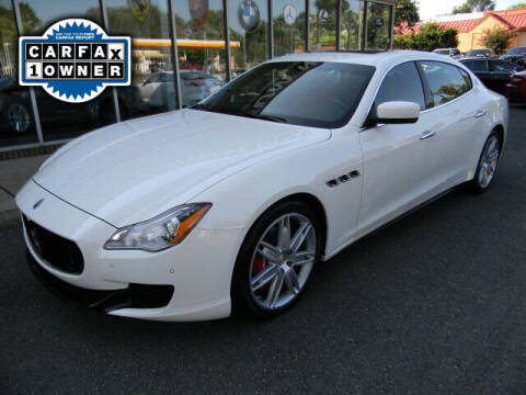 2015 Maserati Quattroporte for sale at Platinum Motorcars in Warrenton VA