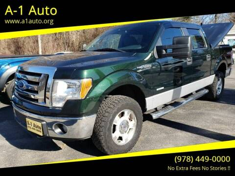 2012 Ford F-150 for sale at A-1 Auto in Pepperell MA