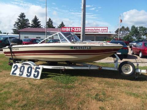 1978 15 Ft.Larson Manta 4500 for sale at Dave's Auto Sales & Service in Weyauwega WI