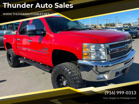 2013 Chevrolet Silverado 1500 for sale at Thunder Auto Sales in Sacramento CA