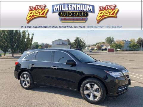 2016 Acura MDX for sale at Millennium Auto Sales in Kennewick WA