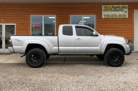 2005 Toyota Tacoma for sale at MARIETTA MOTORS LLC in Marietta OH