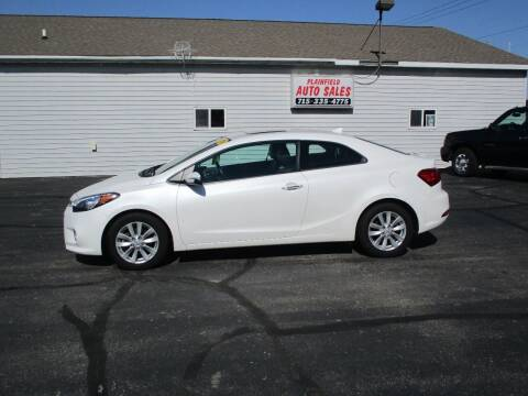 2014 Kia Forte Koup for sale at Plainfield Auto Sales, LLC in Plainfield WI