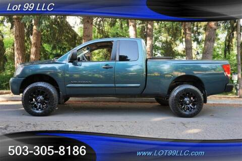 2005 Nissan Titan for sale at LOT 99 LLC in Milwaukie OR