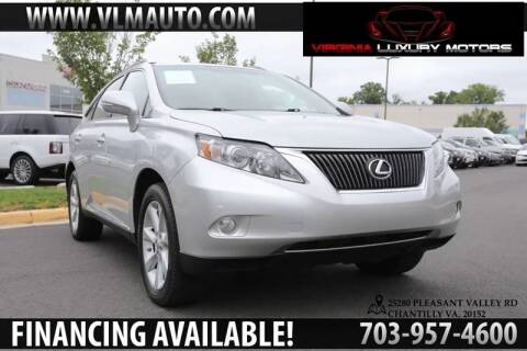 2011 Lexus RX 350 for sale at Used Imports Auto - Virginia Luxury Motors in Chantilly GA