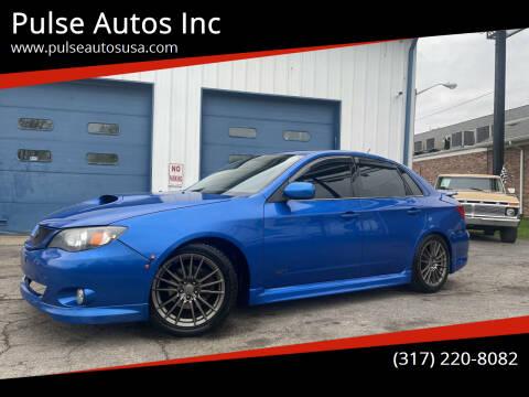 2010 Subaru Impreza for sale at Pulse Autos Inc in Indianapolis IN