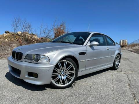 2003 BMW M3 for sale at MCQ SALES INC in Upton MA