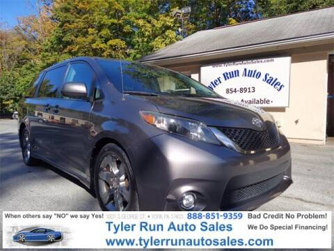 2012 Toyota Sienna for sale at Tyler Run Auto Sales in York PA
