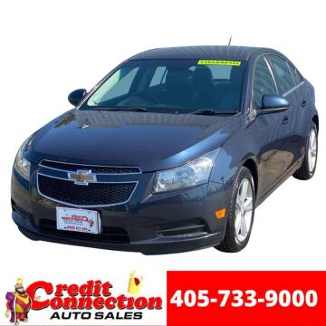 2014 Chevrolet Cruze for sale at Credit Connection Auto Sales in Midwest City OK