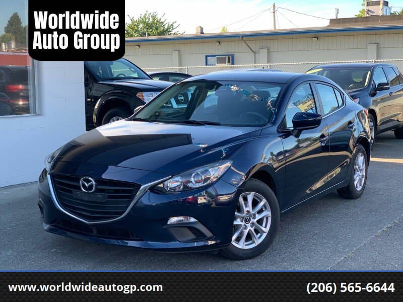 2016 Mazda MAZDA3 for sale at Worldwide Auto Group in Auburn WA