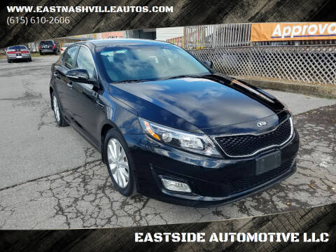 2015 Kia Optima for sale at EASTSIDE AUTOMOTIVE LLC in Nashville TN