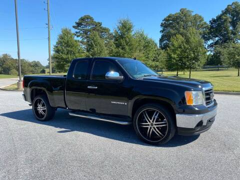 2008 GMC Sierra 1500 for sale at GTO United Auto Sales LLC in Lawrenceville GA
