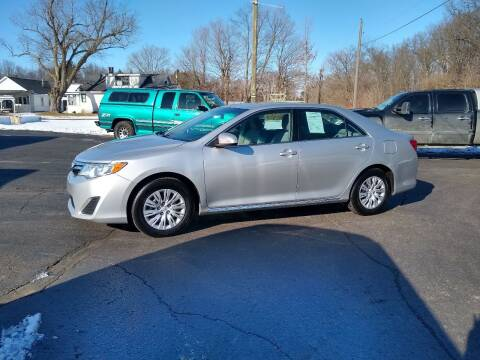 2014 Toyota Camry for sale at Depue Auto Sales Inc in Paw Paw MI