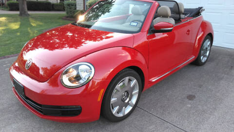 2013 Volkswagen Beetle Convertible for sale at Haigler Motors Inc in Tyler TX