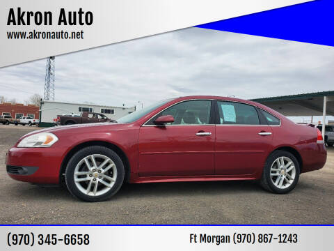 2011 Chevrolet Impala for sale at Akron Auto in Akron CO