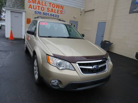 2008 Subaru Outback for sale at Small Town Auto Sales in Hazleton PA