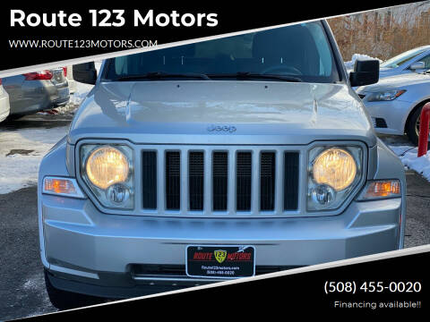 2012 Jeep Liberty for sale at Route 123 Motors in Norton MA