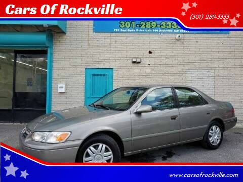 2001 Toyota Camry for sale at Cars Of Rockville in Rockville MD