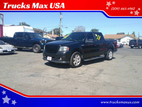 2007 Ford F-150 for sale at Trucks Max USA in Manteca CA