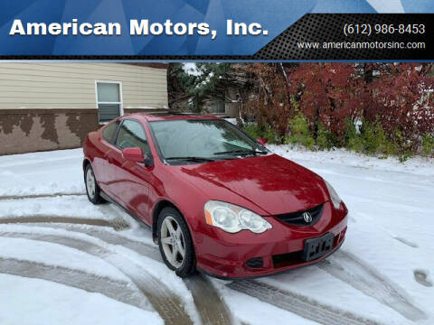 2002 Acura RSX for sale at American Motors, Inc. in Farmington MN