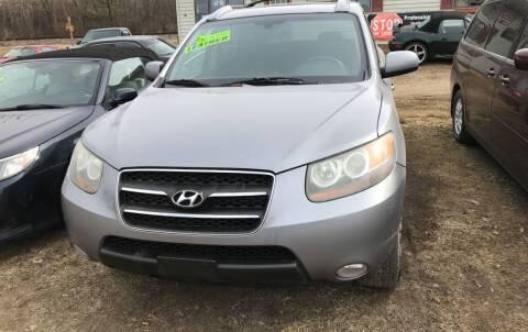 2007 Hyundai Santa Fe for sale at Richard C Peck Auto Sales in Wellsville NY
