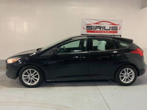 2018 Ford Focus for sale at SIRIUS MOTORS INC in Monroe OH