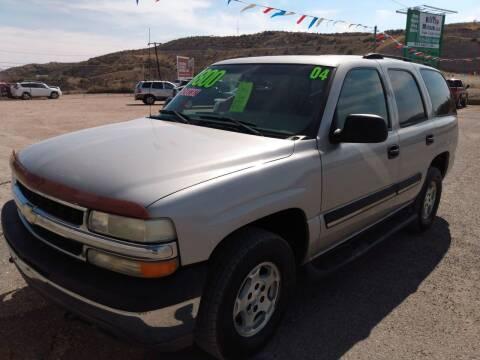 2004 Chevrolet Tahoe for sale at Hilltop Motors in Globe AZ