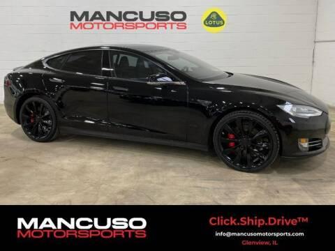 2014 Tesla Model S for sale at Mancuso Motorsports in Glenview IL