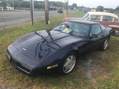 1988 Chevrolet Corvette for sale at RJD Enterprize Auto Sales in Scotia NY