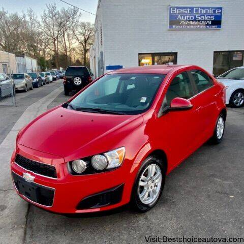 2012 Chevrolet Sonic for sale at Best Choice Auto Sales in Virginia Beach VA