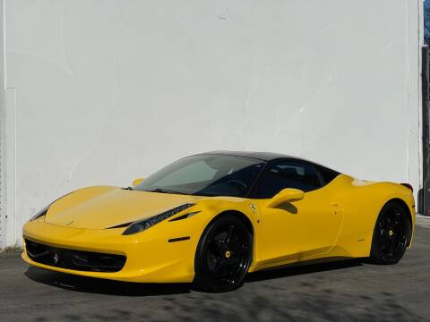 2010 Ferrari 458 Italia for sale at Corsa Exotics Inc in Montebello CA